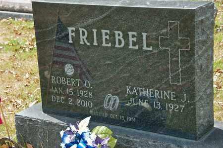 FRIEBEL, ROBERT O - Richland County, Ohio | ROBERT O FRIEBEL - Ohio Gravestone Photos