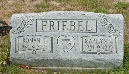 FRIEBEL, MARILYN J - Richland County, Ohio | MARILYN J FRIEBEL - Ohio Gravestone Photos