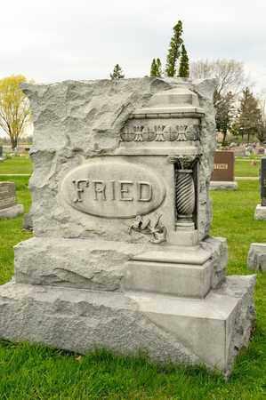FRIED, WILLIAM - Richland County, Ohio   WILLIAM FRIED - Ohio Gravestone Photos