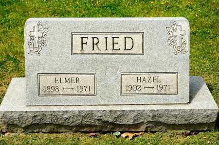 FRIED, HAZEL - Richland County, Ohio   HAZEL FRIED - Ohio Gravestone Photos