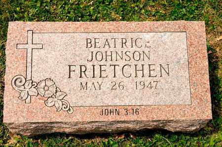 FRIETCHEN, BEATRICE - Richland County, Ohio | BEATRICE FRIETCHEN - Ohio Gravestone Photos