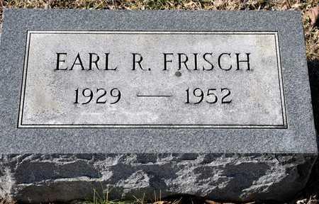 FRISCH, EARL R - Richland County, Ohio   EARL R FRISCH - Ohio Gravestone Photos