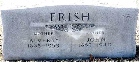 FRISH, JOHN - Richland County, Ohio | JOHN FRISH - Ohio Gravestone Photos