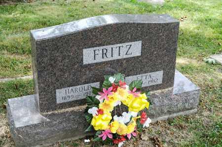 FRITZ, ETTA - Richland County, Ohio | ETTA FRITZ - Ohio Gravestone Photos
