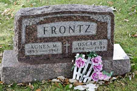 FRONTZ, OSCAR B - Richland County, Ohio | OSCAR B FRONTZ - Ohio Gravestone Photos