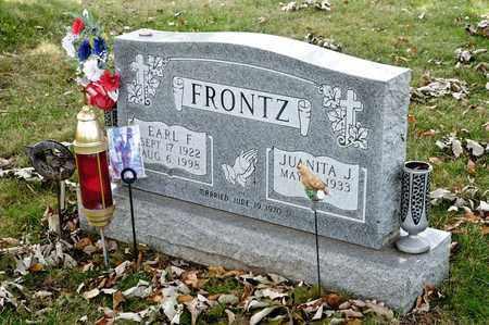 FRONTZ, EARL F - Richland County, Ohio | EARL F FRONTZ - Ohio Gravestone Photos