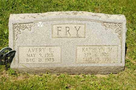 FRY, KATHRYN M - Richland County, Ohio | KATHRYN M FRY - Ohio Gravestone Photos