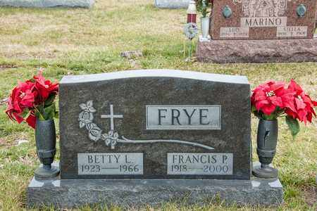 FRYE, BETTY L - Richland County, Ohio | BETTY L FRYE - Ohio Gravestone Photos