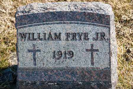 FRYE JR, WILLIAM - Richland County, Ohio | WILLIAM FRYE JR - Ohio Gravestone Photos