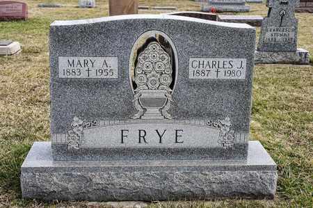 FRYE, MARY A - Richland County, Ohio | MARY A FRYE - Ohio Gravestone Photos