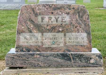 FRYE, ALINE M - Richland County, Ohio | ALINE M FRYE - Ohio Gravestone Photos