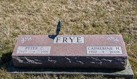 FRYE, CATHERINE H - Richland County, Ohio | CATHERINE H FRYE - Ohio Gravestone Photos