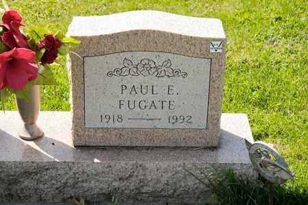 FUGATE, PAUL E - Richland County, Ohio | PAUL E FUGATE - Ohio Gravestone Photos