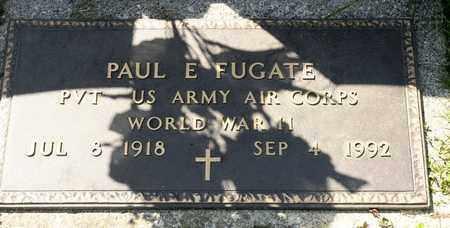 FUGATE, PAUL E - Richland County, Ohio | PAUL E FUGATE - Ohio Gravestone Photos