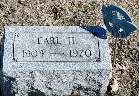 FULLAGER, EARL H - Richland County, Ohio   EARL H FULLAGER - Ohio Gravestone Photos