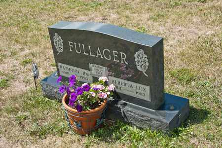 LUX FULLAGER, ALBERTA - Richland County, Ohio | ALBERTA LUX FULLAGER - Ohio Gravestone Photos