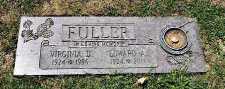 FULLER, VIRGINIA D - Richland County, Ohio   VIRGINIA D FULLER - Ohio Gravestone Photos