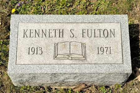 FULTON, KENNETH S - Richland County, Ohio | KENNETH S FULTON - Ohio Gravestone Photos