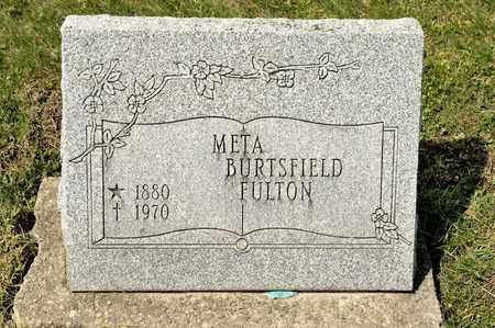 FULTON, META - Richland County, Ohio | META FULTON - Ohio Gravestone Photos