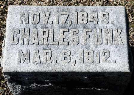 FUNK, CHARLES - Richland County, Ohio | CHARLES FUNK - Ohio Gravestone Photos