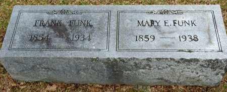 FUNK, FRANK - Richland County, Ohio   FRANK FUNK - Ohio Gravestone Photos
