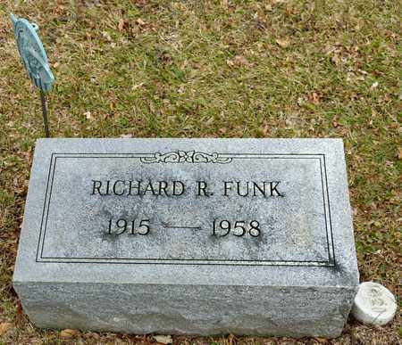 FUNK, RICHARD R - Richland County, Ohio | RICHARD R FUNK - Ohio Gravestone Photos