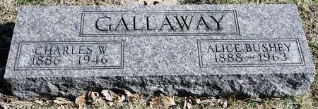 GALLAWAY, CHARLES W - Richland County, Ohio | CHARLES W GALLAWAY - Ohio Gravestone Photos