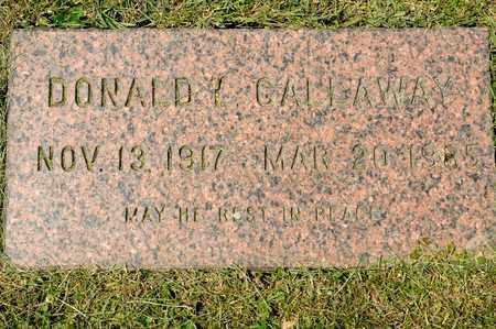 GALLAWAY, DONALD L - Richland County, Ohio   DONALD L GALLAWAY - Ohio Gravestone Photos