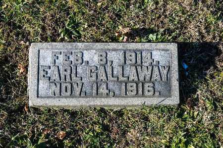 GALLAWAY, EARL - Richland County, Ohio | EARL GALLAWAY - Ohio Gravestone Photos