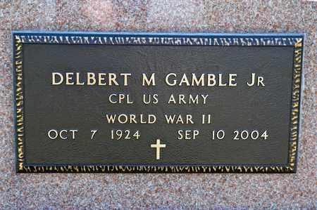GAMBLE JR, DELBERT M - Richland County, Ohio   DELBERT M GAMBLE JR - Ohio Gravestone Photos