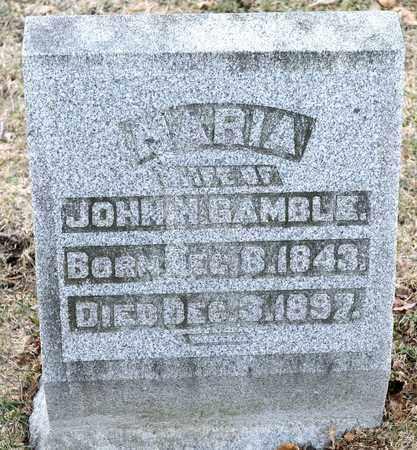 GAMBLE, MARIA - Richland County, Ohio   MARIA GAMBLE - Ohio Gravestone Photos