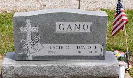 GANO, DAVID J. - Richland County, Ohio | DAVID J. GANO - Ohio Gravestone Photos