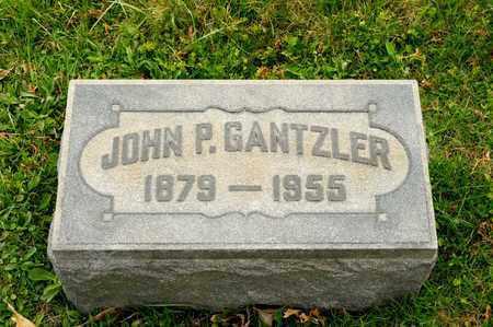 GANTZLER, JOHN P - Richland County, Ohio | JOHN P GANTZLER - Ohio Gravestone Photos