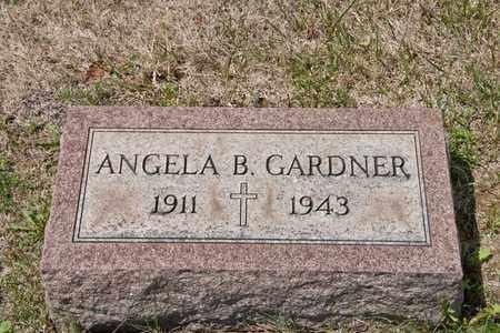 GARDNER, ANGELA B - Richland County, Ohio | ANGELA B GARDNER - Ohio Gravestone Photos