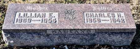 GARLAND, LILLIAN E - Richland County, Ohio | LILLIAN E GARLAND - Ohio Gravestone Photos