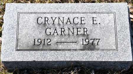 GARNER, CRYNACE E - Richland County, Ohio   CRYNACE E GARNER - Ohio Gravestone Photos