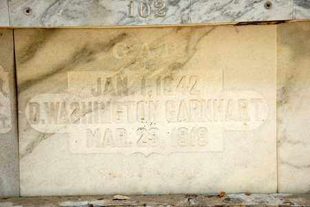 GARNHART, D WASHINGTON - Richland County, Ohio | D WASHINGTON GARNHART - Ohio Gravestone Photos