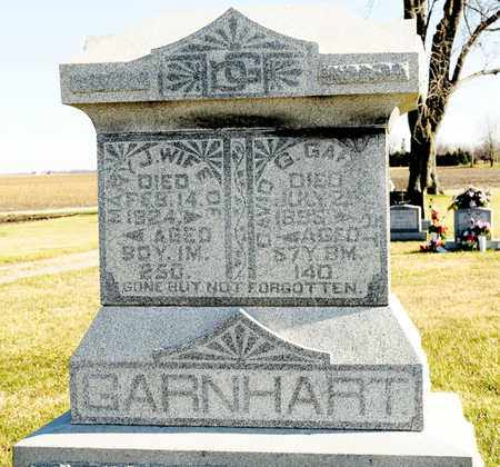GARNHART, MARY J - Richland County, Ohio | MARY J GARNHART - Ohio Gravestone Photos