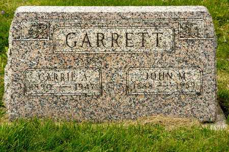 GARRETT, JOHN M - Richland County, Ohio   JOHN M GARRETT - Ohio Gravestone Photos