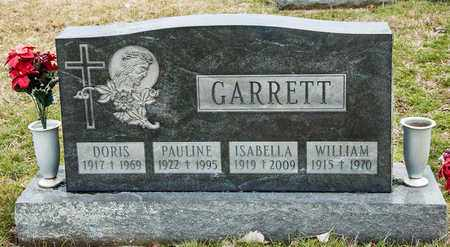 GARRETT, ISABELLA - Richland County, Ohio | ISABELLA GARRETT - Ohio Gravestone Photos