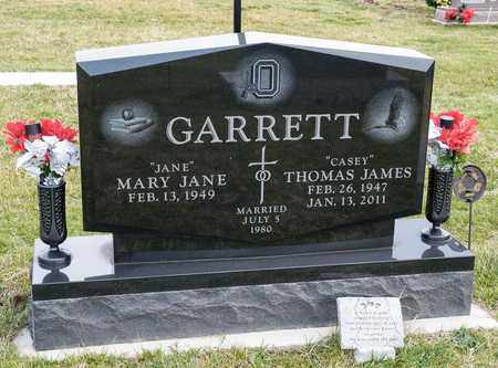 GARRETT, THOMAS JAMES - Richland County, Ohio   THOMAS JAMES GARRETT - Ohio Gravestone Photos