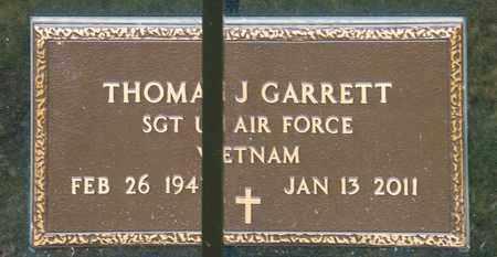 GARRETT, THOMAS JAMES - Richland County, Ohio | THOMAS JAMES GARRETT - Ohio Gravestone Photos