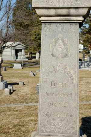 GARRETT, W H - Richland County, Ohio | W H GARRETT - Ohio Gravestone Photos