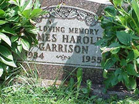 GARRISON, JAMES HAROLD - Richland County, Ohio | JAMES HAROLD GARRISON - Ohio Gravestone Photos