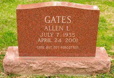 GATES, ALLEN L - Richland County, Ohio | ALLEN L GATES - Ohio Gravestone Photos