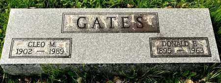 GATES, DONALD F - Richland County, Ohio | DONALD F GATES - Ohio Gravestone Photos
