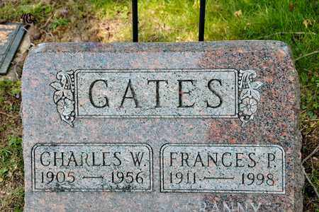 GATES, FRANCES P - Richland County, Ohio | FRANCES P GATES - Ohio Gravestone Photos