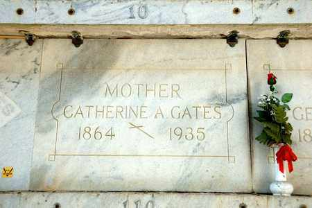 GATES, CATHERINE A - Richland County, Ohio   CATHERINE A GATES - Ohio Gravestone Photos