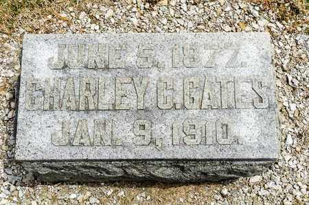 GATES, CHARLEY C - Richland County, Ohio   CHARLEY C GATES - Ohio Gravestone Photos