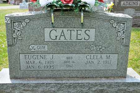 GATES, EUGENE J - Richland County, Ohio | EUGENE J GATES - Ohio Gravestone Photos